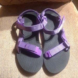 Teva Original Universal Multicolor Sandals EUC